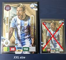 LIONEL MESSI PANINI ADRENALYN XL 2017 LIMITED EDITION XXL ROAD TO RUSSIA