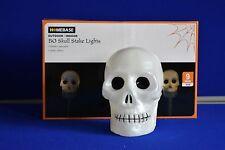 3 Allumer Crâne Jeu De Lumières Gazon Chemin Finder Halloween Chaud