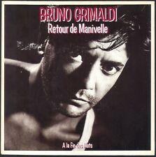 BRUNO GRIMALDI RETOUR DE MANIVELLE 45T SP 1985 BIG BANG 884.149 PRESSE