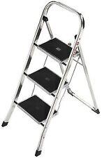 Hailo K30 150 Kg Capacity Aluminium Household Steps 3 Steps