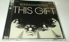 SONS & DAUGHTERS THIS GIFT CD VGC 2 DISC SET BONUS LIVE CD