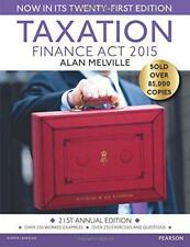Taxation: Finance Act 2015 by Melville, Alan | Paperback Book | 9781292086293 |