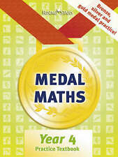 Medal Maths Practice Textbook Year 4: Year 4, Good Condition Book, Cooper, Richa