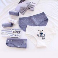 Cartoon Women's Cotton Breathable  Underwear Panties Briefs Knickers Underpants