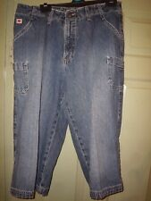 girls short jeans American cropped 3/4 length from crutch Rockies Relaxed size 9