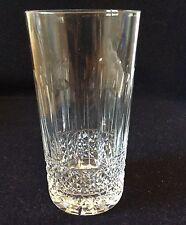 Gobelet cristal taillé à la roue hauteur 14,1cm anonyme Lorraine France