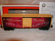 Lionel 6-83175 Christmas 2016 Music Box Car O-27 Spread Cheer sitting display