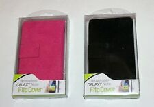 PU Leather Flip Case Cover For Samsung Galaxy Note i9220 / N700 Black or Pink