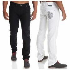 Markenlose coloured Herren-Jeans