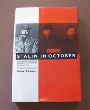 STALIN IN OCTOBER by Slusser - 1st HCDJ 1987 - Russian Revolution History