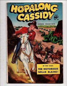 HOPALONG CASSIDY WESTERN # 20 FAWCETT COMICS June 1948 GOLDEN AGE WILLIAM BOYD