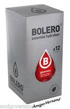 Bolero Drinks mit Stevia - Guarana - 12 Beutel für 18 Liter Getränk
