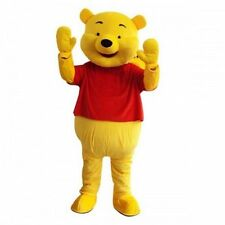 2018 Adult Cartoon Mascot Costume Winnie the Pooh Bear Fancy Dress Gift A++