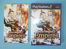 Dynasty Warriors 5 Empires ps2 jeu Playstation 2 Pal avec notice VF