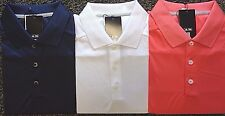 NEW MENS ADIDAS S/S 3-STRIPES CLIMACOOL POLO GOLF SHIRT, PICK COLOR & SIZE, $80