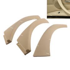 3X Beige Interior Door Handle Cover L+R Side For BMW E90 E91 E92 E93 3-Series M3