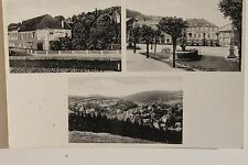 26394 Foto AK Bad Gottleuba Hotel Kronprinz 1942