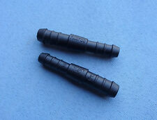 2940) 1x Schlauchverbinder RGV 12-10 mm 714D / 72mm gerade reduziert schwarz