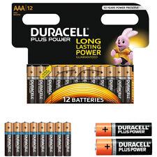 GENUINE 12 X DURACELL AAA PLUS POWER ALKALINE BATTERIES DURALOCK UP TO 50% POWER