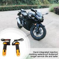 """Guidon Chaud Moto Moto 7/8 """"22mm pour Suzuki"""