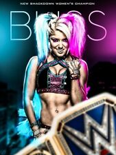 WWE Alexa Bliss Iron On T-Shirt Transfer A5