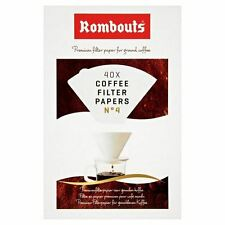 Rombouts Coffee Filter Papers N4 40 per Pack