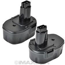 2 NEW 2.0AH 14.4V 14.4 VOLT Battery for DEWALT DW9091 DW9094 DC9091 DE9092