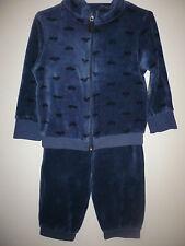Nicki Anzug 2-Teiler von TCM in Gr.74/80 blau mit Automotiven