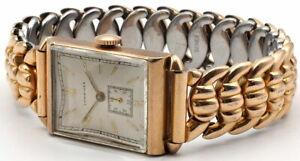 Vintage Longines Watch. 17J. Bracelet. Runs. Swiss Made 10K GF. LXW