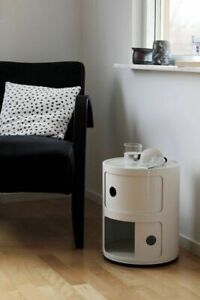 BEDSIDE CABINET 1 2 3 CHEST DRAWER BEDROOM TABLE FURNITURE WHITE TABLE CUPBOARD