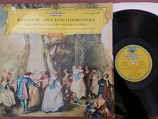 SLPM 138816 DGG red stereo PIERRE FOURNIER - BOCCHERINI, CPE BACH concertos