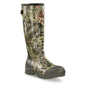 New 17 in Men's Ankle Fit Insulated Rubber Boots, 800-gram Mossy Oak Realtree