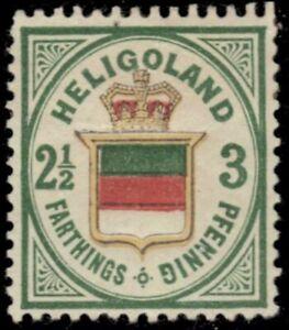 """HELIGOLAND 20 (SG12) - Coat of Arms """"1876 Original Printing"""" (pb41592) $275"""