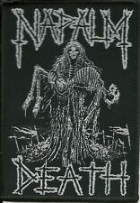 NAPALM DEATH-REAPER-WOVEN PATCH-CLASSIC