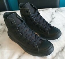 All Star Converse Negro Alta Top de Superdry Size UK 5 EU 37.5
