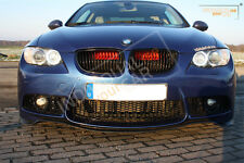 BMW 3er E90 E91 E92 E93 - Air Scoops Rot -