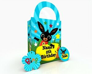Bing Personalised Gift Bag, Party Bag, Party Box, Treat Bag/Box Party Favor