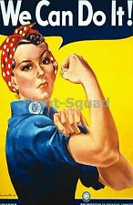 WW2 Picture Photo American poster We Can Do It  1942 1299