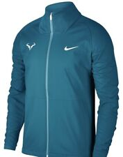 NWT Nike Rafael Nadal Summer Tennis Jacket 2018 French Open Teal Blue size Large