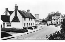 Norton Village Three Horseshoes Pub Letchworth unused RP old postcard by Frith