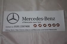 Genuine Mercedes-Benz Set Of 6 Copper Injector Washers NEW