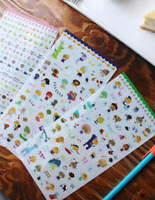 PARAE Yum n Nom's Wonderland - Stickers Set of 3 Sheets - Scrapbooking embellish