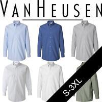 Van Heusen Mens Pinpoint Oxford Shirt. 13V0067
