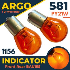 Volvo XC90 Rear Indicator Bulbs 2002-2014 MK1 Orange Amber Light Hazard Turn 12v