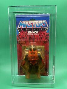 Stinkor TEST SAMPLE MOTU HE-MAN MASTERS OF THE UNIVERSE AFA 75Y MOC NIB
