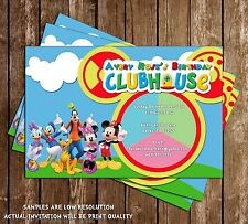 Mickey Mouse Clubhouse - Oh Toodles - Birthday Invitation - 15 Printed W/envelop