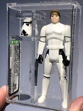 AFA 90 Star Wars 1985 Kenner Loose Luke Stormtrooper POTF Gem Mint High Grade