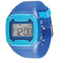 Freestyle Men's Blue Shark Oversize Case Digital Retro Digital Watch 0644