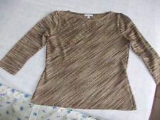 joli haut habillé 1.2.3 t.42/44 manches ¾ convient pour fêtes Dd1131