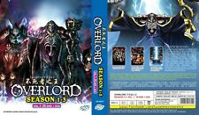 ANIME DVD~ENGLISH DUBBED~Overlord Season 1-3(1-39End+OVA)FREE SHIPPING+GIFT